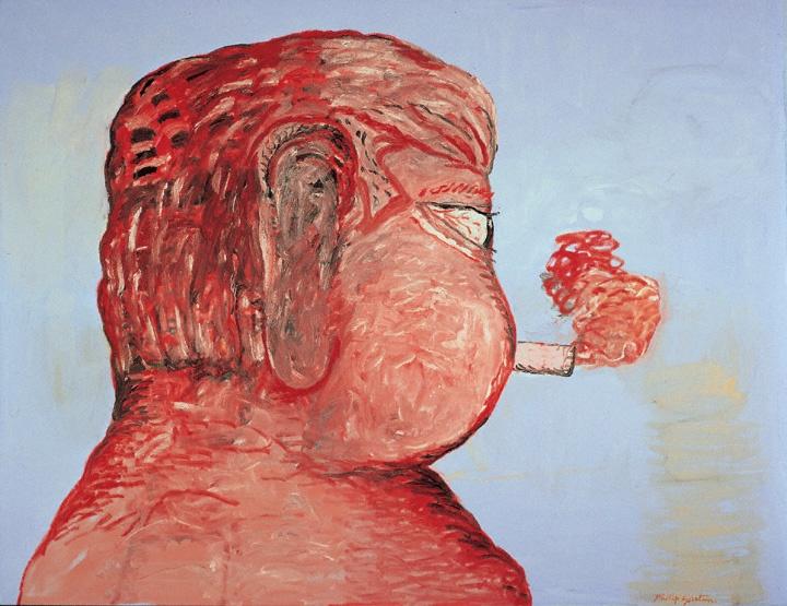 Morton Feldman por Philip Guston