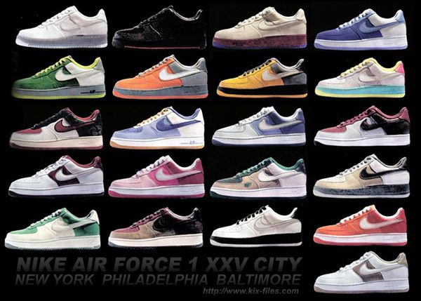 Collect as many air force ones