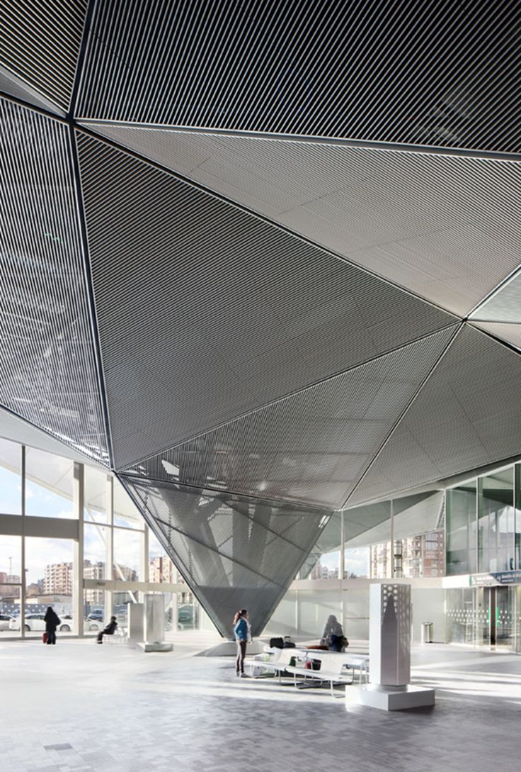 The railway station has been designed in accordance with the urban role assigned in the proposal for the international competition and the urban planning and landscape further developed. The station serves as a starting point of a new urban project, wh...