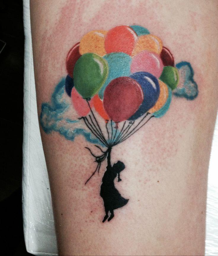 картинки тату с воздушными шариками летнее