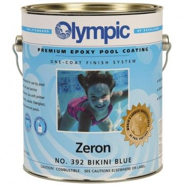 Are you ready to repaint your pool? Doheny's has top quality paint to make your pool look brand new. Check out our line of Olympic Zeron Epoxy Pool paint today! You can even save $7.00 a gallon with our Annual Pool Sale. It lasts you up to 8 years!   http://www.doheny.com/poolsupplies/Olympic-Zeron-Epoxy-Pool-Coating-3573.html