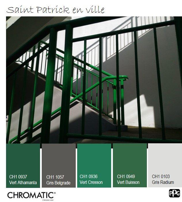 les 110 meilleures images du tableau chromatic en vert sur pinterest conception d 39 int rieur. Black Bedroom Furniture Sets. Home Design Ideas