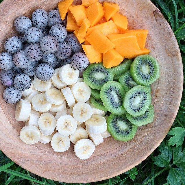 Colourful rainbow fruit bowl for breakfast! Bananas, kiwis, dragon fruits, & papaya. So in love with dragon fruit lately!! Also, just wanted to let everyone know I won't be able to post much the next few months. I'll still try to post every now &...