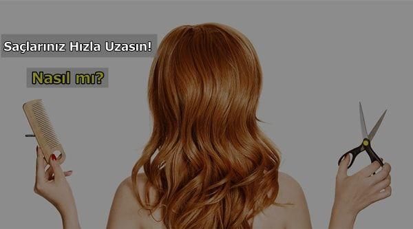 1 Haftada Hizli Sac Uzatma Yontemleri Kadin Icin Hair Styles
