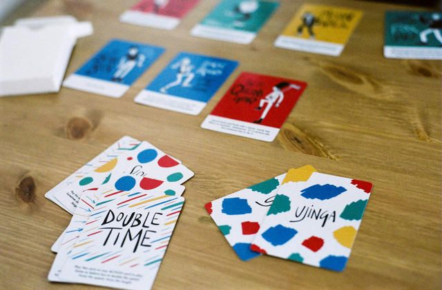 Love the artwork - A Card Game Designed To Get Kids Off Their Butts   Co.Design   business + design