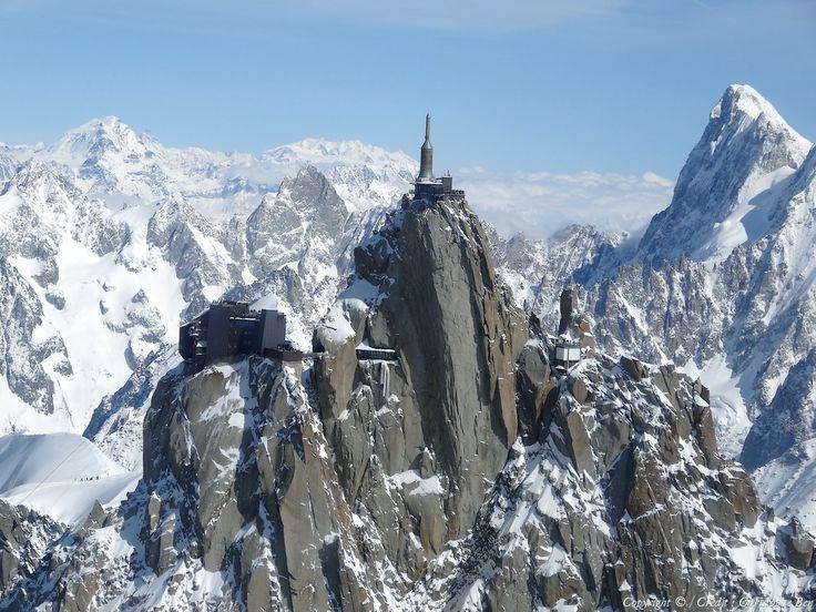 ✈️ Photo aérienne de : Aiguille du Midi - Haute-Savoie (74)  wow that would be awesome