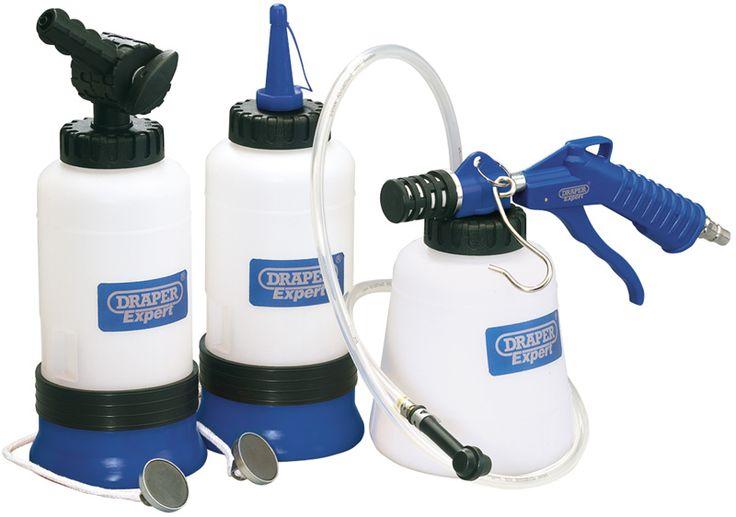 Draper Calidad Expert - Sangrador Neumatico de Frenos Universal -71205 - Para la extración de los aceites de coche, furgonetas, motos etc.   THE TOOL BAR ONLINE
