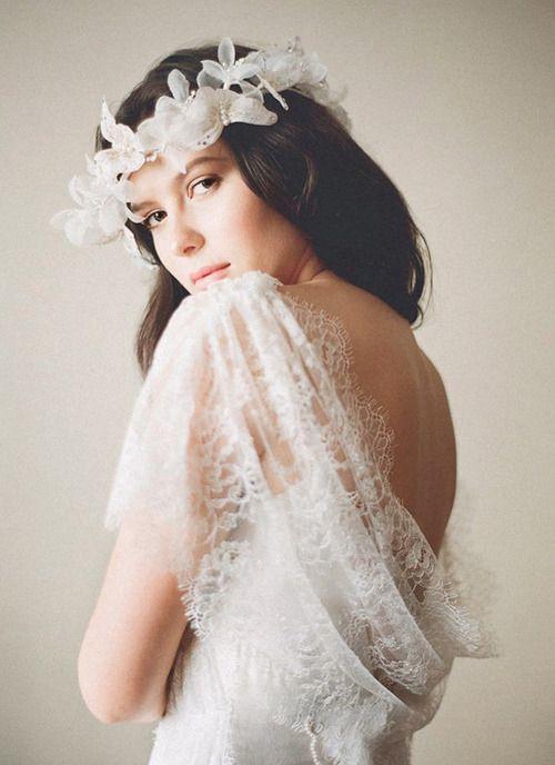 Gorgeous bridal style. photo by Stephanie Williams