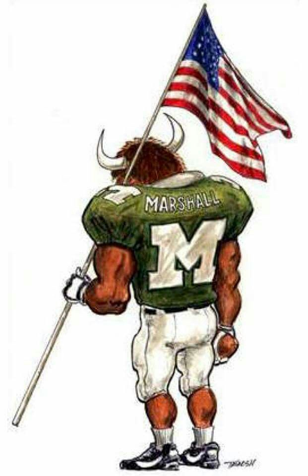 We Are the United States of America first and then WE ARE MARSHALL!!!