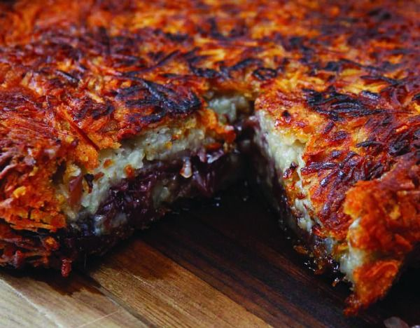 Prime Grill Potato Cake: Potatoes Cakes, Cafe Dj Recipe, Sweet Potatoes Casseroles, Sweets, Potato Cakes, Prime Grilled, Grilled Potatoes, Sweet Shallot, Chief
