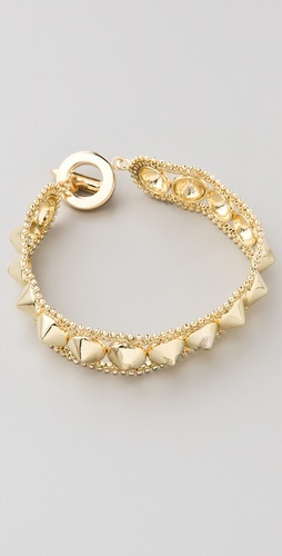 love this studded wrap bracelet