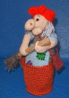 Вяжу и играю... игрушки и описания Марины Борисовой: Баба Яга (описание)