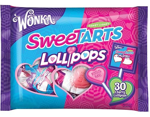 vegan valentine's day candy sweetarts lolipops