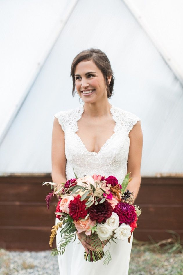 Beautiful Barn Wedding   Samantha Jay Photography   Bridal Musings Wedding Blog