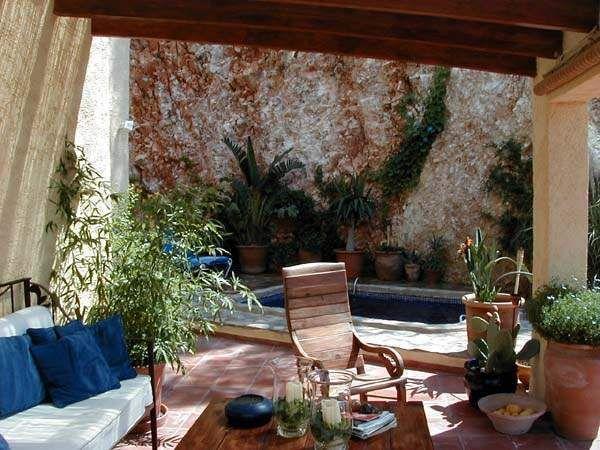 145 mejores im genes sobre paisajismo patios y piscinas - Piscinas en patios interiores ...