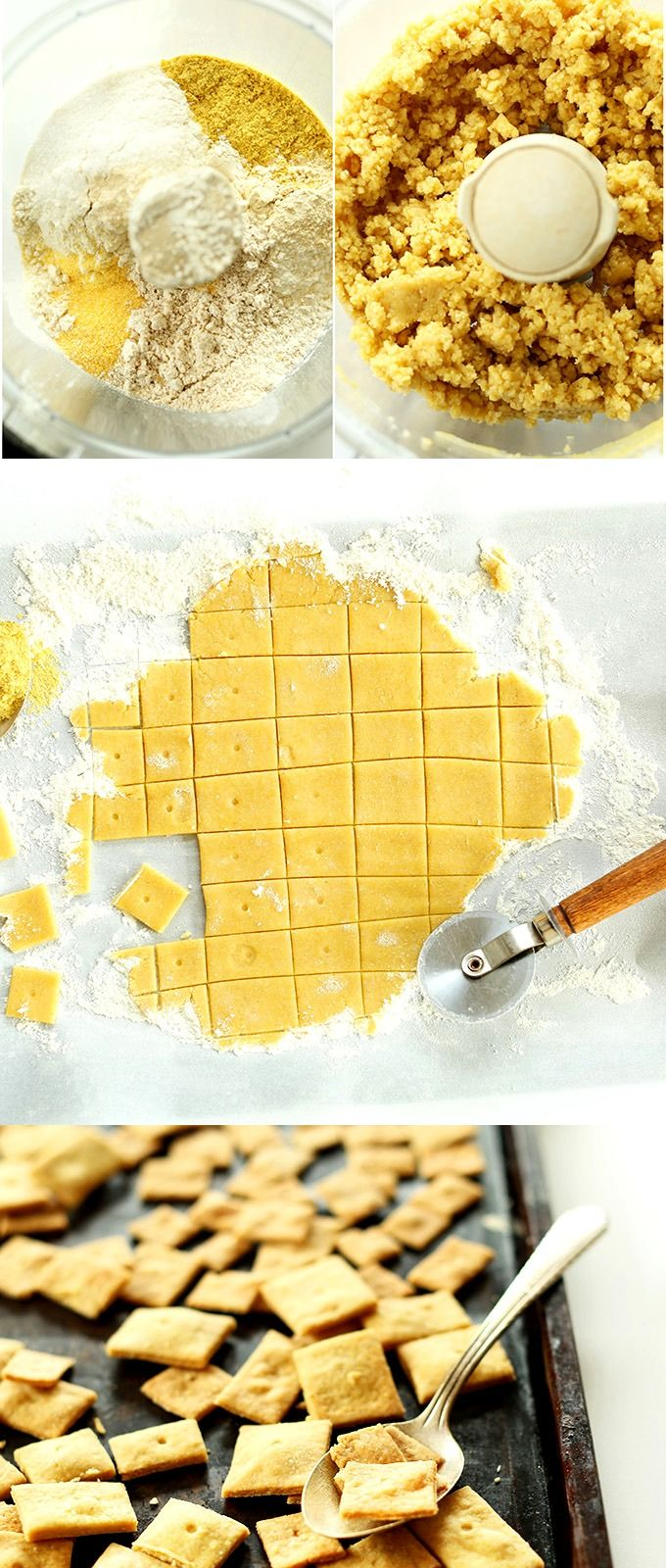 Vegan Cheez Its! So simple, salty and SUPER cheesy! #vegan