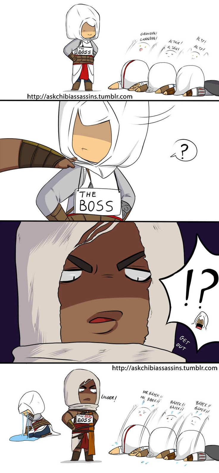 "askchibiassassins: ""THE REAL (new) BOSS HAS COME >B-) """