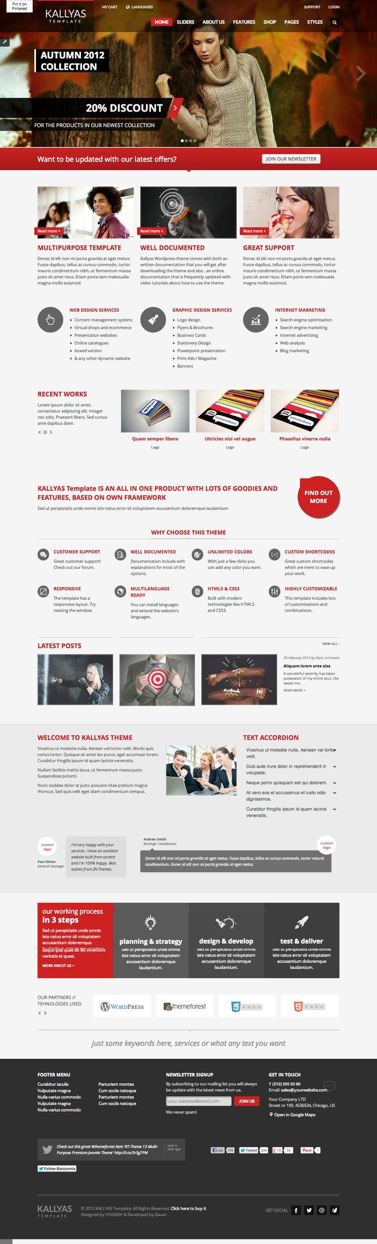 Kallyas Wordpress Theme   Ultra premium wordpress theme