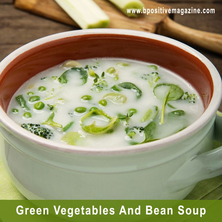 Green Vegetables And Bean #Soup is a high in #Protein and low #Calorie food that is stuffed with Vitamins and Minerals.