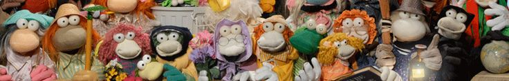 The Babibouchettes is a youth program of Télévision Suisse Romande (TSR) aired between 1981 and 1999. It was created by Jean-Claude Issenmann and presented by puppets made with a sock and two tennis balls table for the eyes. --   --