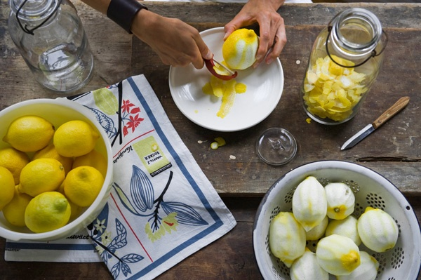 Home made lemon-cello by Valery Rizzo