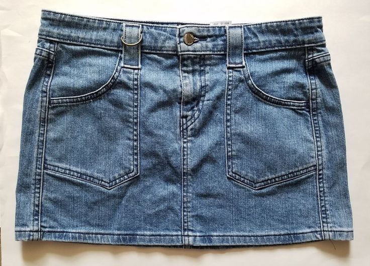 Levi's  Women's super Low Stretch Jean Skirt- Size 7 Juniors - Medium Wash   Clothing, Shoes & Accessories, Women's Clothing, Skirts   eBay!