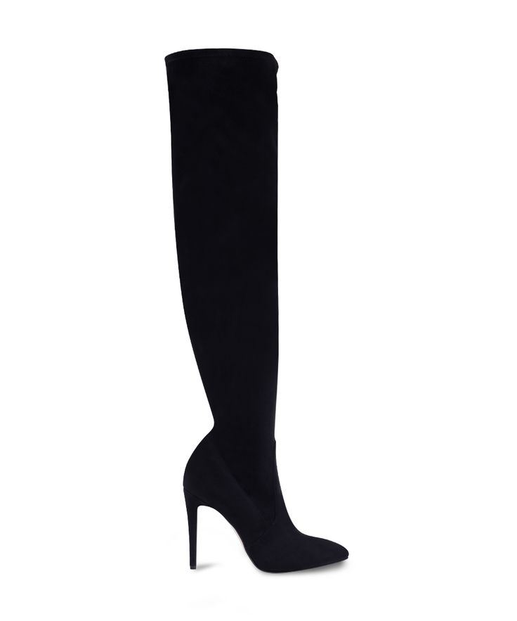 SANTE over the knee stiletto boot for hot hot hot looks... Black