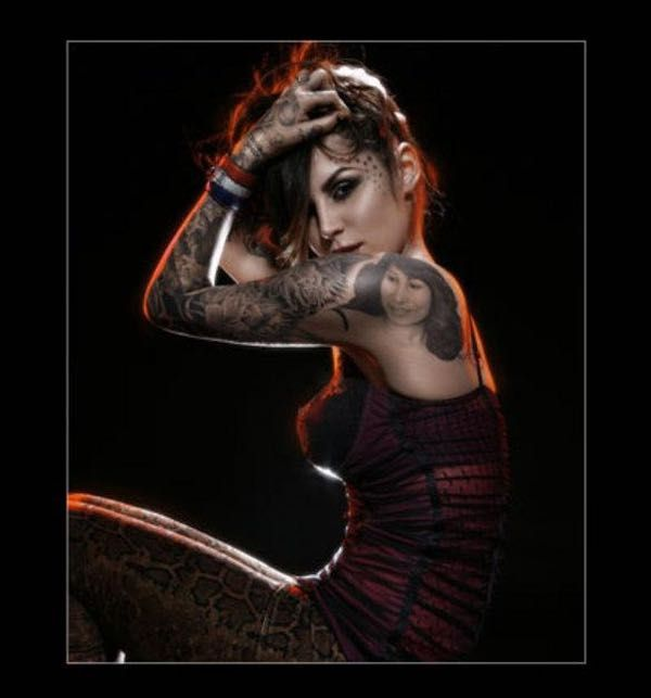 """Photo collection of celebrity Kat Von D, one of the hottest women in Hollywood. Kat started her TV career in 2005 as a star of """"Miami Ink."""" She went on to star in LA Ink at her own tattoo shop, High Voltage. She's since been through a handful of celebrity relationships and was married to ..."""
