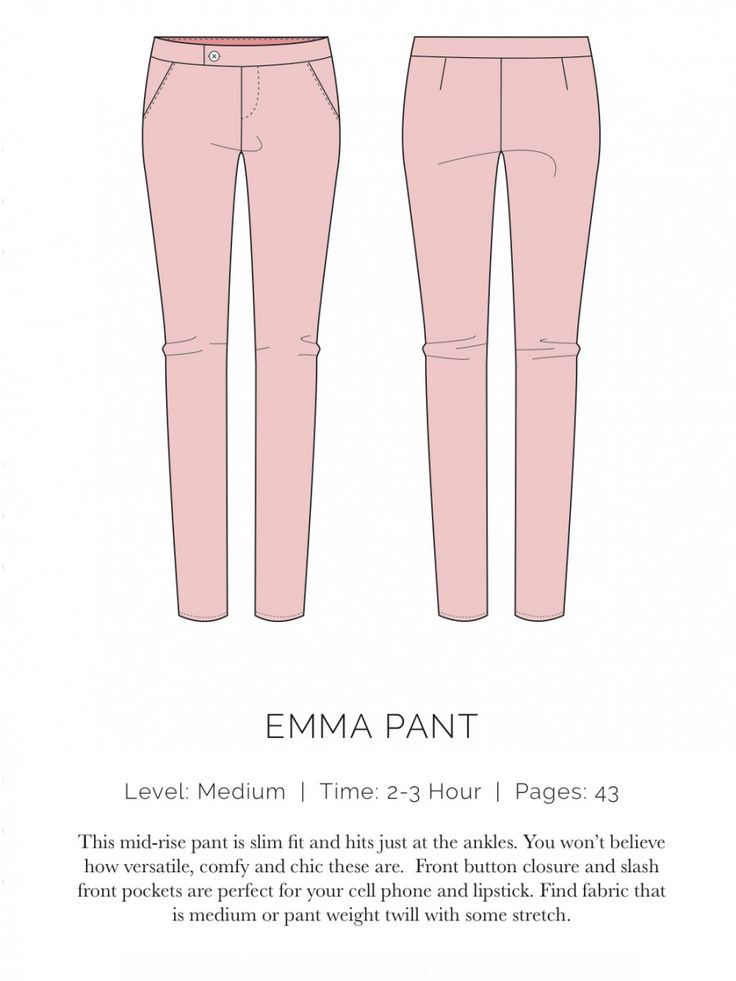 spit up and stilettos / Emma Pant Flat