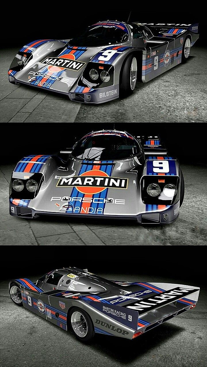 Porsche 956 / 962 - Le Mans 1985 to 1994. The Porsche 956/962 twins won the first and the last 24 Hours of Le Mans they were entered in, twelve years apart. I'm not sure there's ever been any other sports racing car that was as successful for as long as this masterpiece.