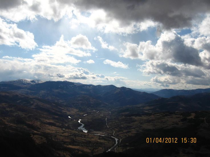 Aries Valley seen from Dragons portal - Alba County