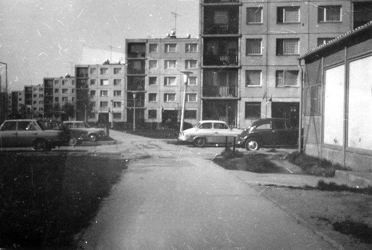Budapesti krt-i barakk - 1975