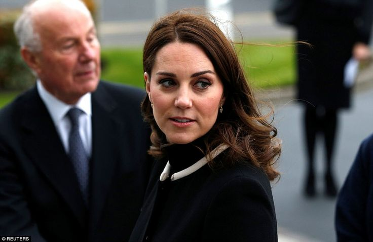 The Duchess was showcasing her stylish new haircut - dubbed the 'Kate bob' or the 'Kob' - ...