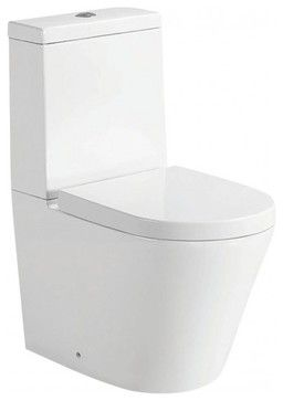 Wet Design Vivo Back to Wall Toilet Suite contemporary-toilets - harvey norman