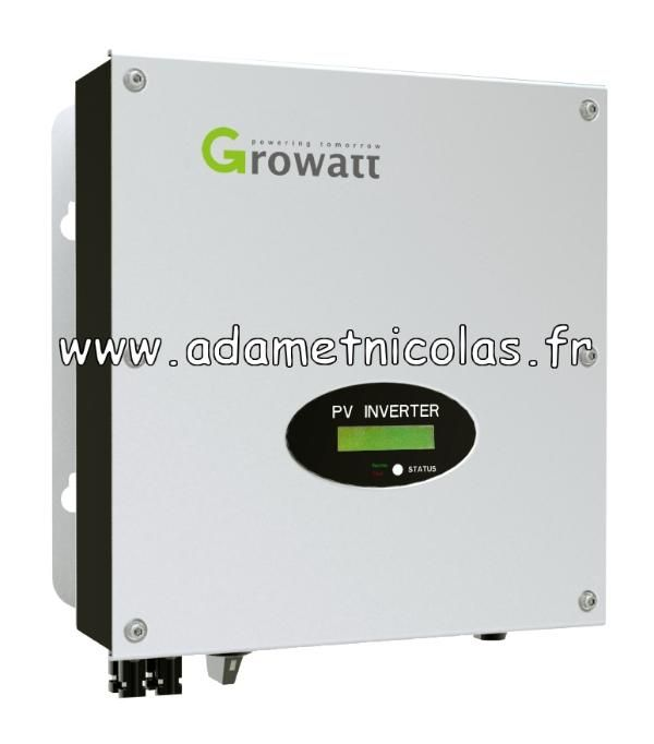 Onduleurs GROWATT 3000MTL-S Multi Tracker Rapport Qualite/Prix- Vente en ligne panneaux solaires Vosges - kits photovoltaïques - Installer Panneau Materiel Solaire