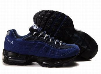Nike Air Max 95 Mens Black Blue White Trainers UK