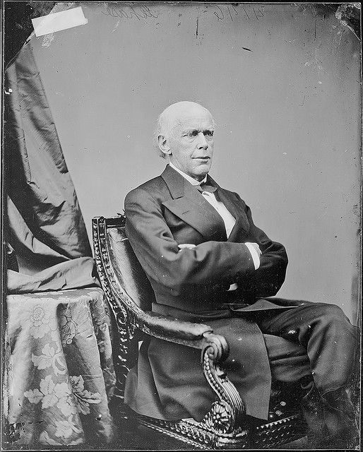 Hon. Salmon P. Chase, Chief Justice U.S. by The U.S. National Archives, via Flickr