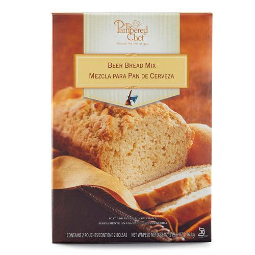 Just add beer, soda or juice to a pouch of mix for one standard loaf or four mini loaves.