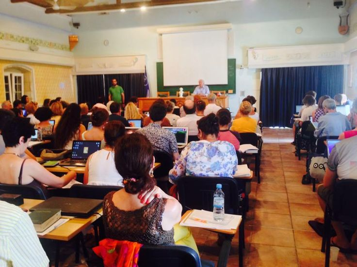 The First Day of the International Course!! We are spreading homeopathy all over the world via the teachings of Prof Vithoulkas!