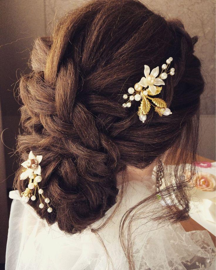 Купить Свадебные шпильки в прическу.Свадебные украшения - украшение в прическу, свадебное украшение, свадебные аксессуары