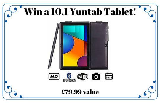Win a Yuntab Tablet.