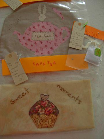 cucito creativo -una decorazione per la borsa e un copriteiera stile Tilda