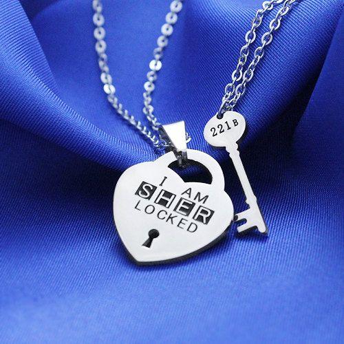 I'm Sherlocked  221B Sherlock Key Necklace by Gadget4Entertainment