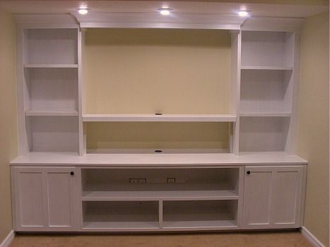 23 best ideas about built in 39 s on pinterest cabinets for Media center built in ideas