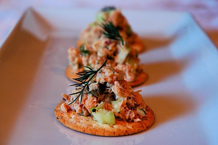 Salmon Salad - The Skinny Gourmet: Recipe