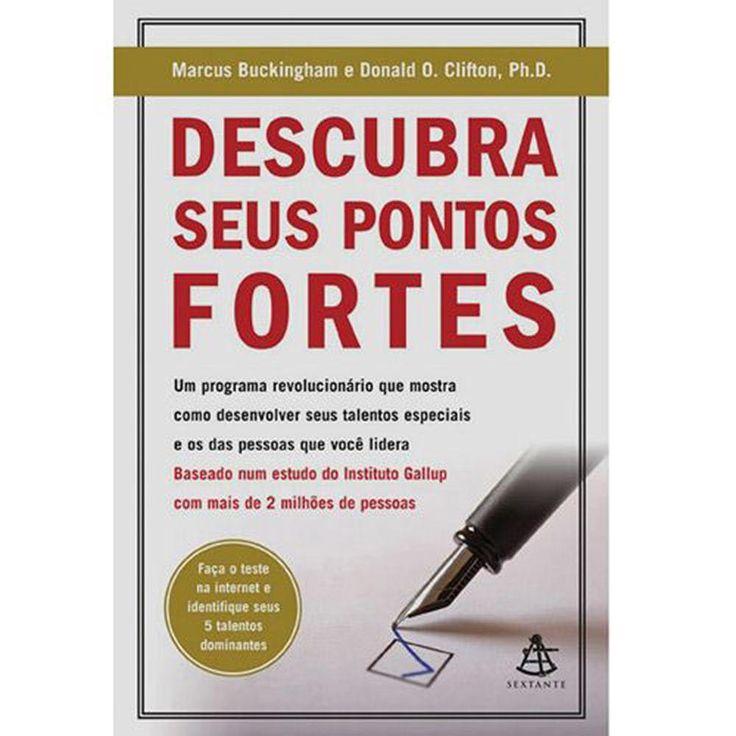 Livro - Descubra Seus Pontos Fortes - Submarino.com