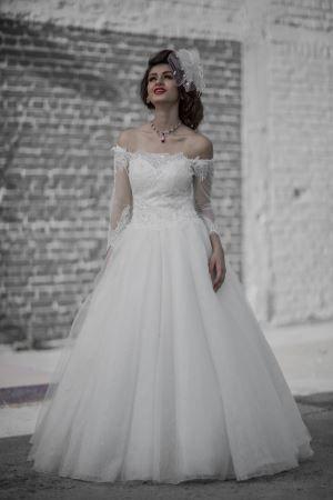 Elegant Mermaid Sweetheart Beaded Floral Organza Designer Wedding Gown