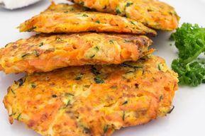 Rösti con zanahorias y calabacín WW, receta de sabrosos pasteles ligeros …