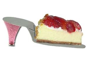 shoe shaped cheesecake slicer/lifter