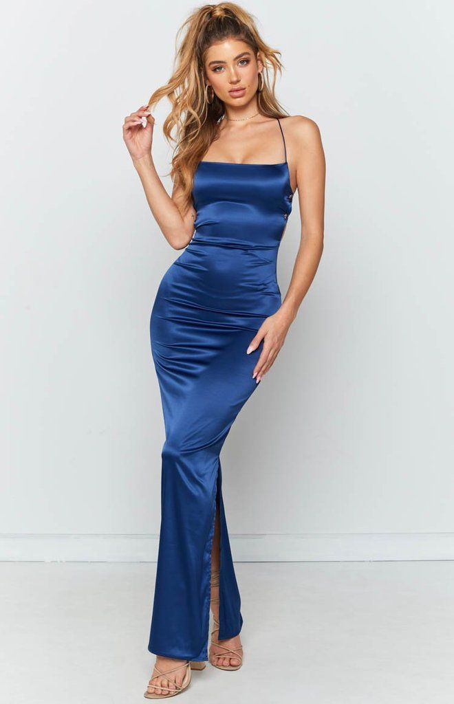 Manhattan Slip Formal Dress Midnight - XXS
